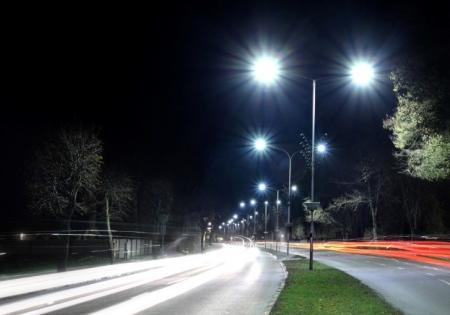 Юрмала - уличное освещение