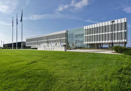 Administrative building of apranga group