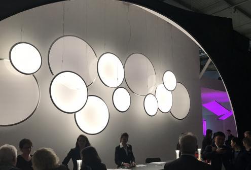 Gaismas Stils starptautiskajā apgaismojuma izstādē, Euroluce 2019